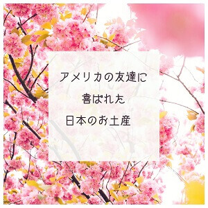 アメリカの友達に喜ばれた日本のお土産紹介アイキャッチ